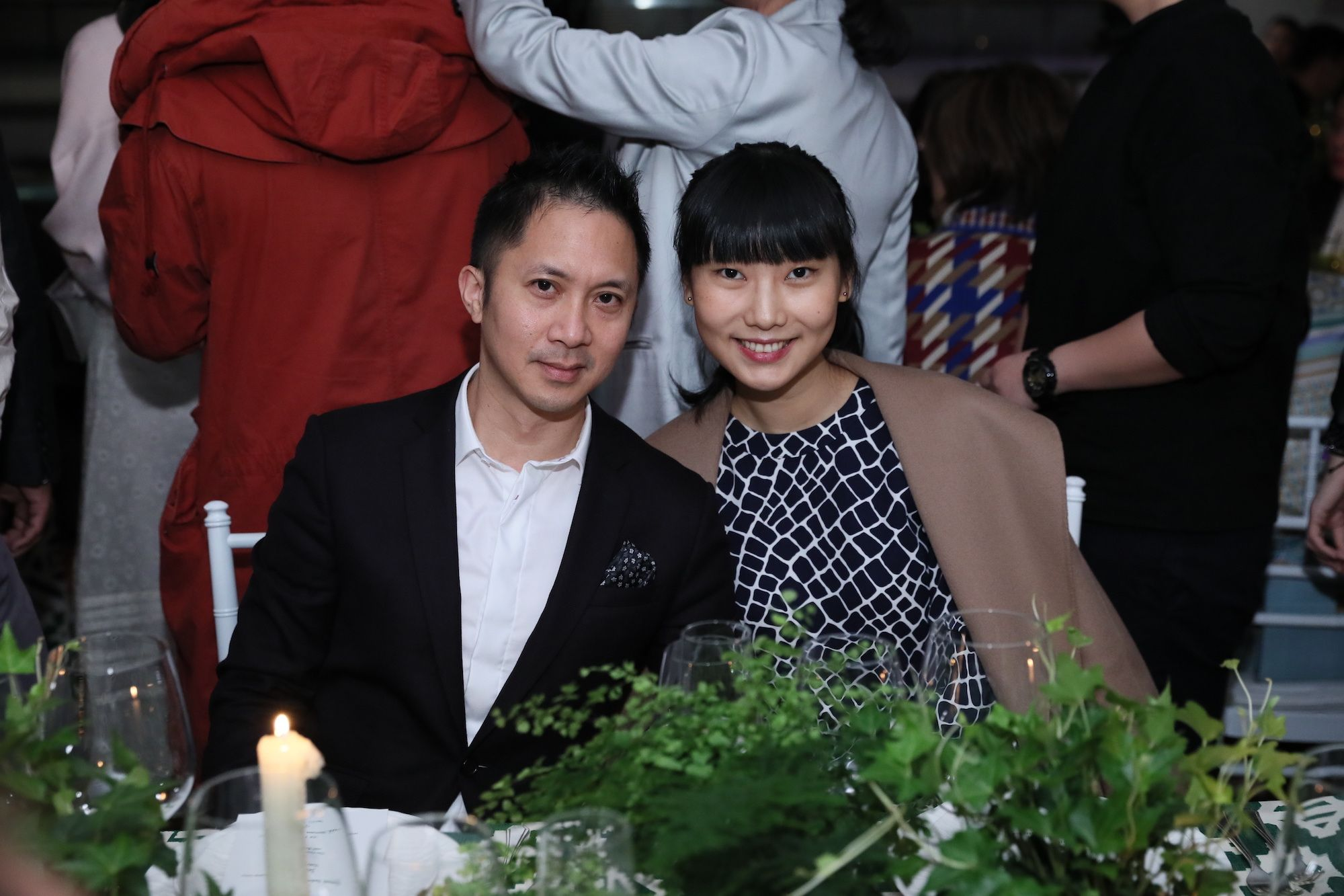 Nydia Zhang and Jehan Chu